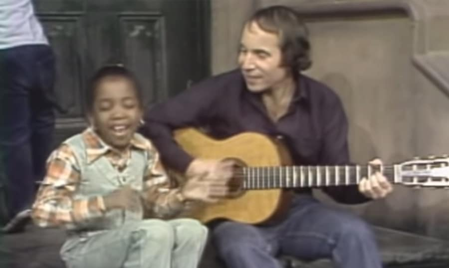 paul simon - me & julio on sesame street