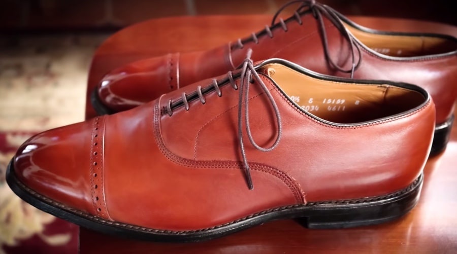 restored shoes