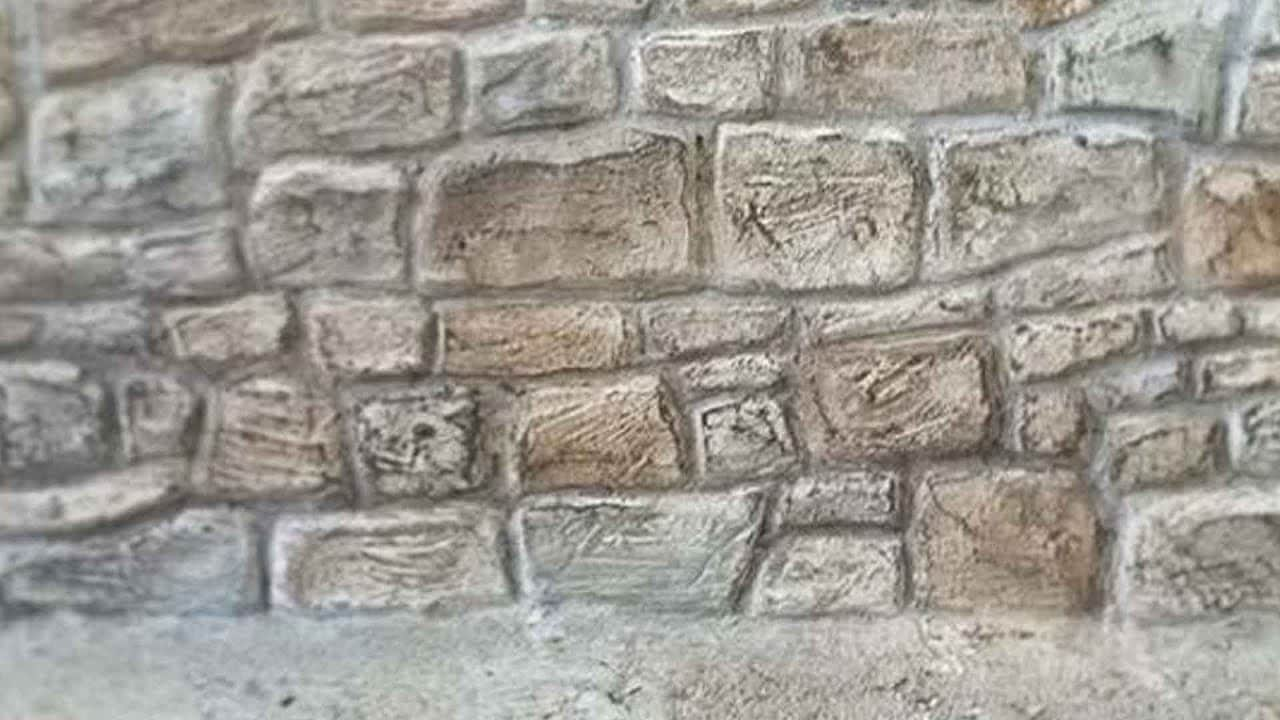 How to make a stone brick wall model | The Kid Should See This on Granite Models  id=96075