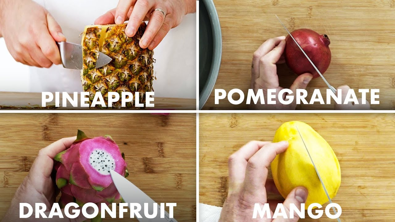 How to slice (almost) every fruit