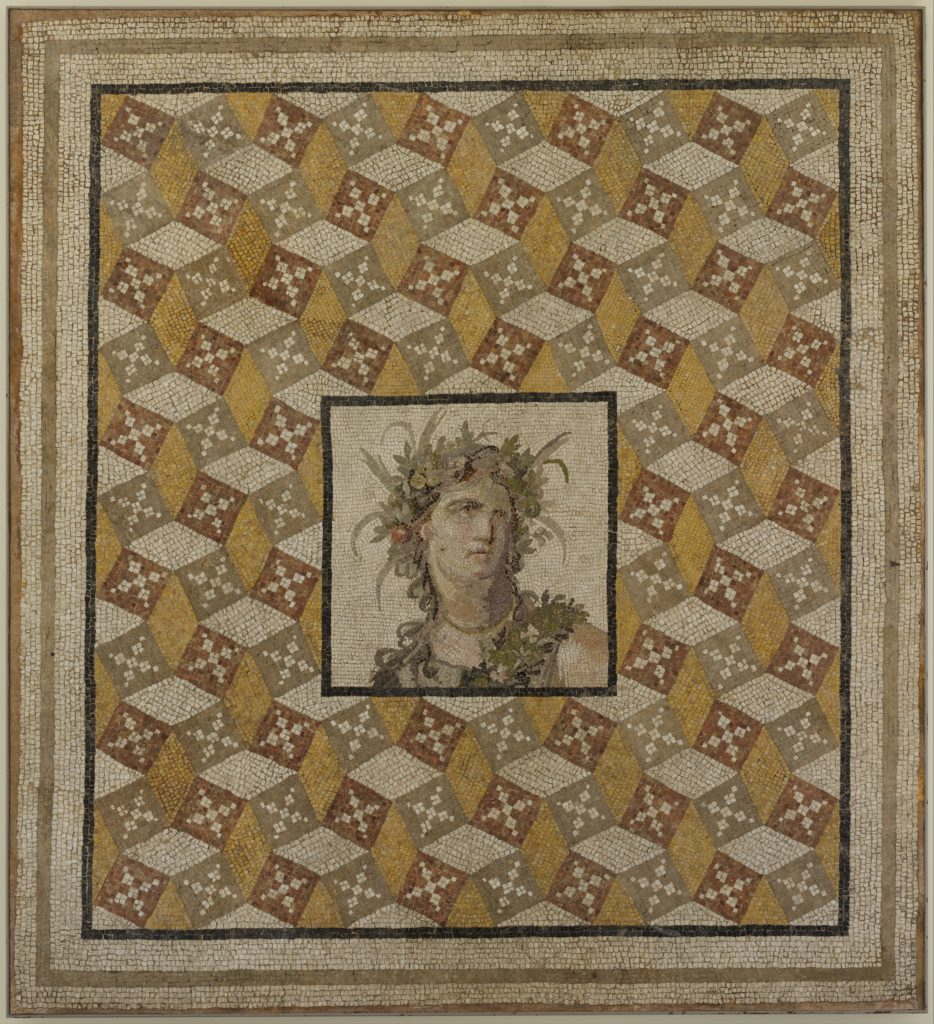 Roman Mosaic floor panel 2nd century A.D.
