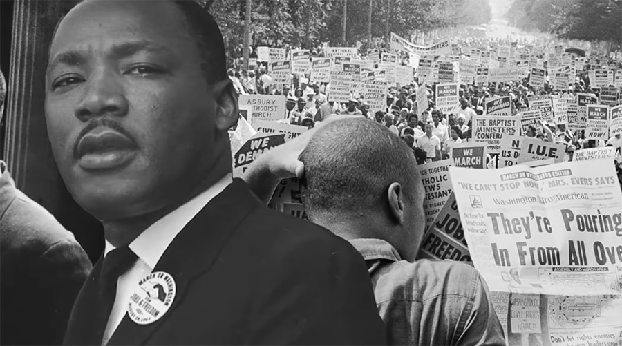 How Martin Luther King Improvised 'I Have A Dream'