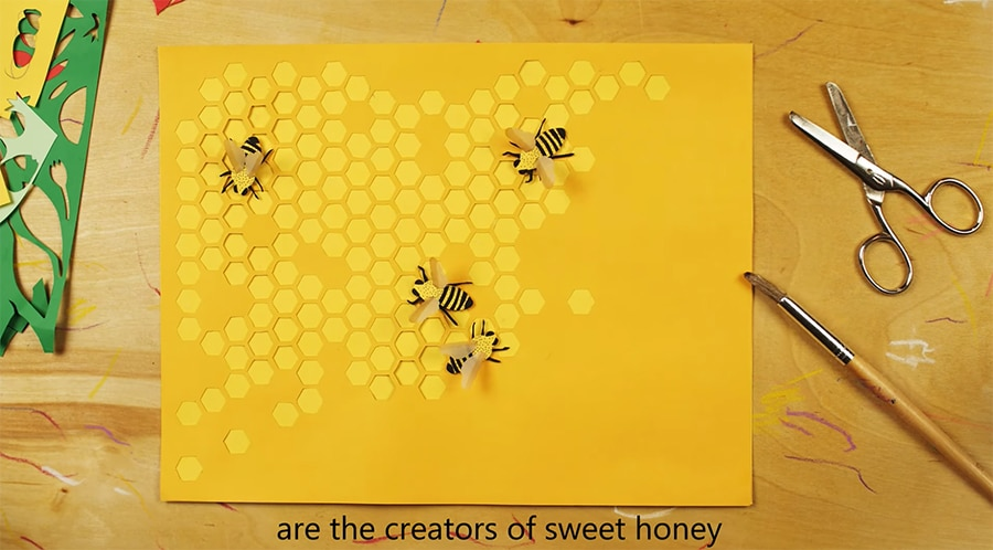 little bees - honey