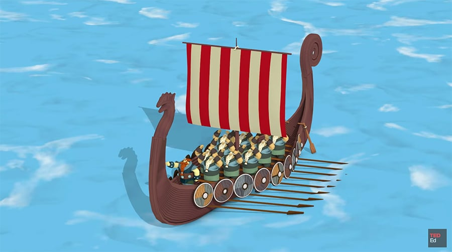 viking ship design
