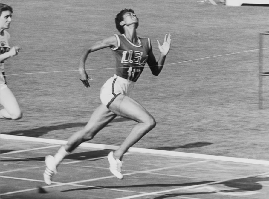 Wilma Rudolph at the Olympics