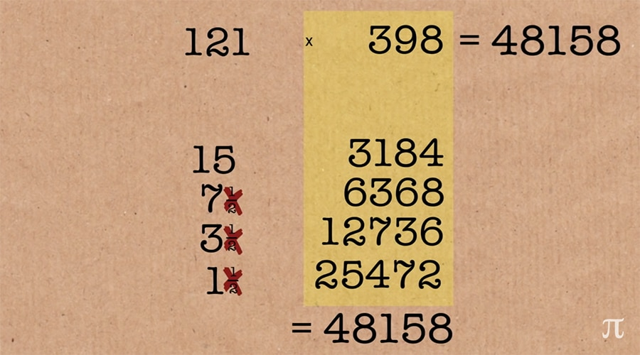using larger numbers