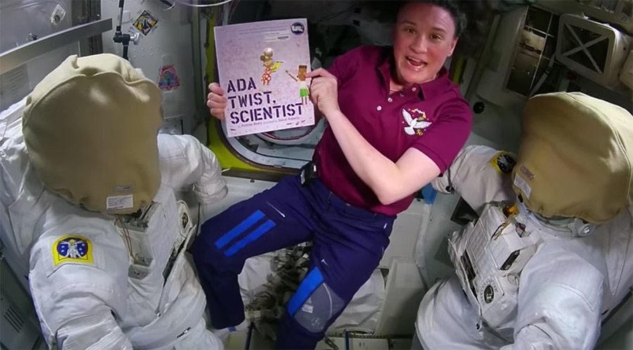 Ada Twist Scientist from ISS