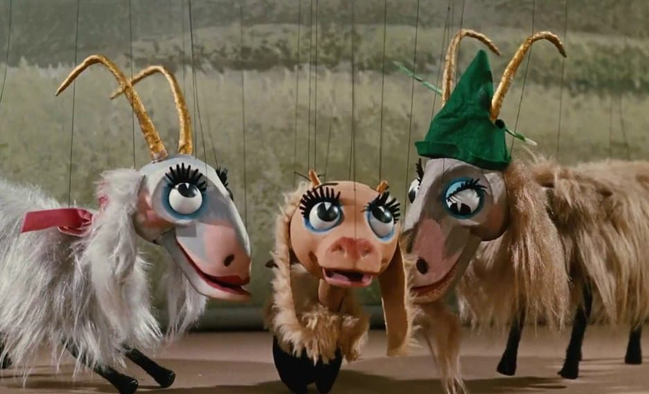 """""""The Lonely Goatherd"""" marionette scene from The Sound Of Music (1965) 