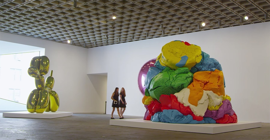 play-doh at the whitney