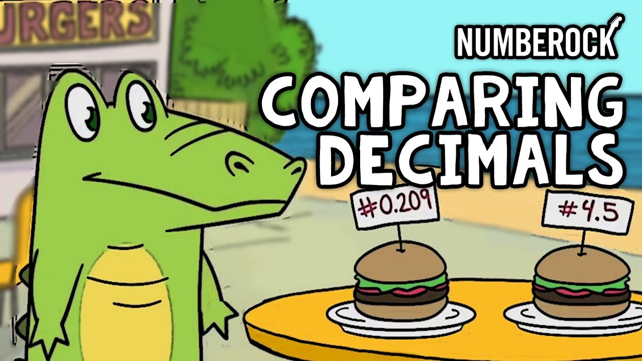 Less Than and Greater Than: Comparing Decimals with Numberock | The Kid Should See This