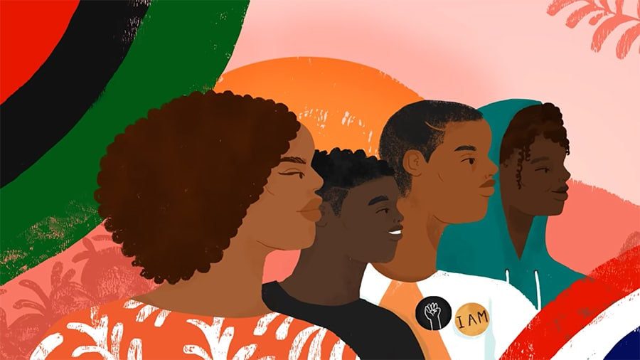Google Doodle Juneteenth Animation