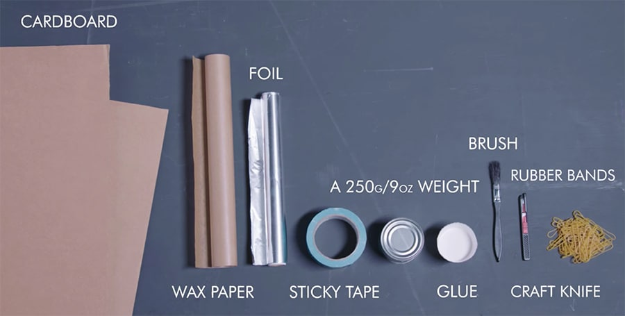 DIY activity supplies