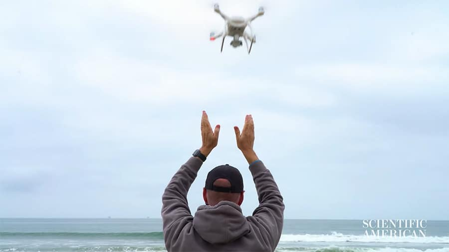 drones from the shark lab