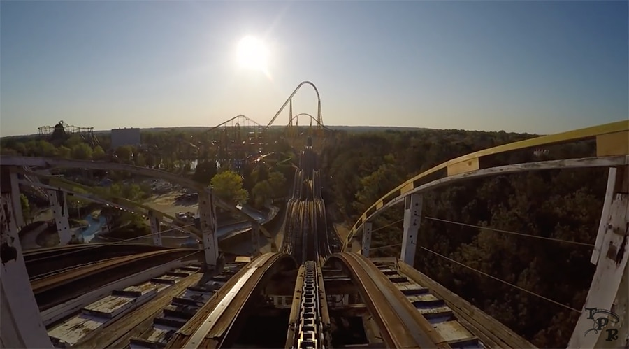 Racer '75 at kings dominion