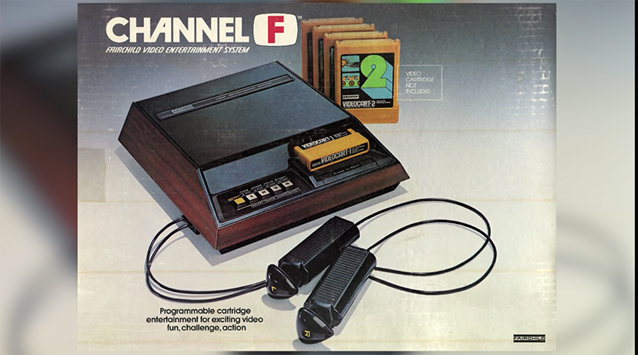 Channel F Game System