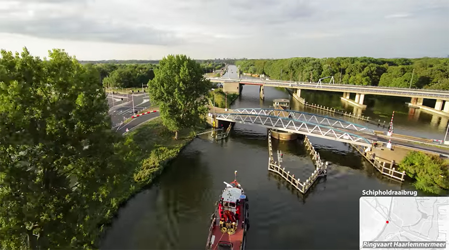 netherlands' canals time-lapse
