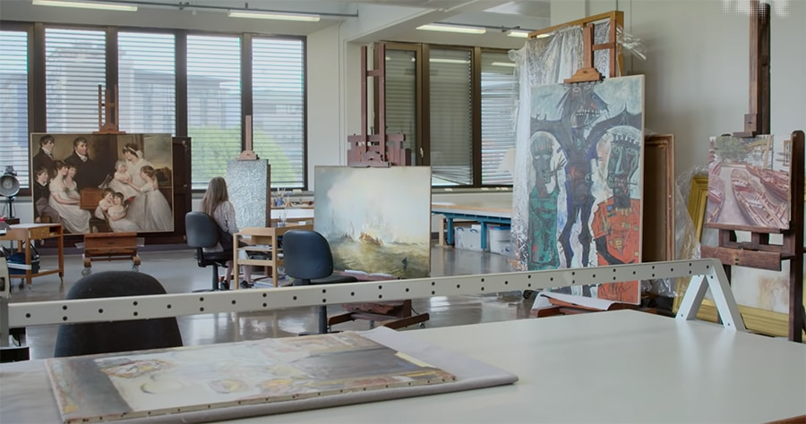behind the scenes at the Tate