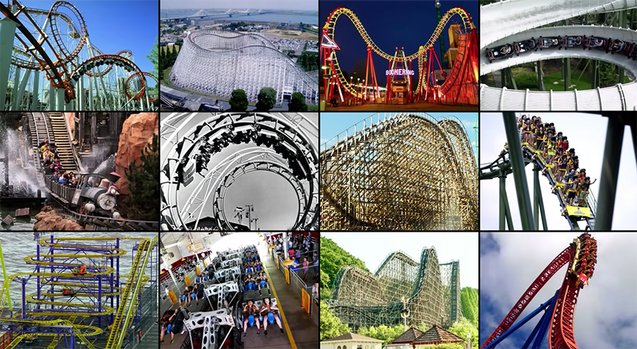 different types of coasters