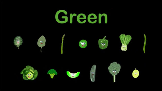 green foods to eat in your food rainbow