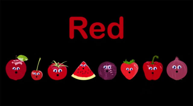 red foods to eat in your food rainbow
