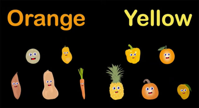 orange and yellow foods to eat in your food rainbow