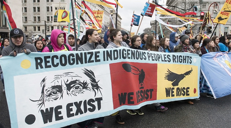 protests by indigenous peoples